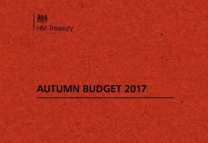 Autumn Budget November 2017 – Summary