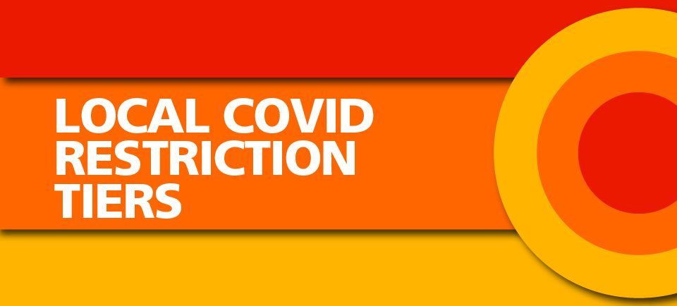 England – local restriction tiers: what you need to know